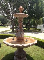 Fountain water for your front and/or back yard.