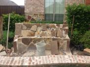 Masonry stone brick and work, stone patio repairs, rock wok