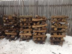 Chimineas, Outdoor Fireplaces and fire pits for $25.00 Stack of FirewoodSplit Seasoned Firewood Picked-up Pricing. Available stacks Hardwood Mix  Stack for $25.00 1/4 Cord $110.00 1/2 Cord $210.00  Full cord $380.00 Oak Stack for $25.00 1/4 Cord $110.00  1/2 Cord $210.00  Full Cord $380.00     Pecan    Stack for $30.00 1/4 cord $125.00  1/2 Cord $230.00  Full Cord $420.00 Mesquite  Stack for $45.00 1/4 cord $160.00 1/2 cord $270.00 Full Cord $450.00 Delivery and  stacking fee may vary depending on distances