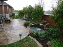 Another Hardscape With Water Feature By Clean Green, Inc.