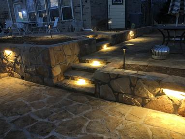 #Outdoor Lighting � Property Grading � Dirt Removal