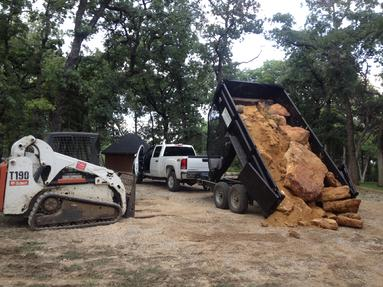 Bobcat dirt work in denton, Near Little Elm